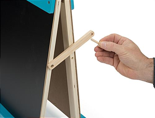 Kids Table Easel with Peg Lock