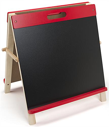 Desktop Easel for Kids with Chalkboard