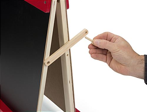 Desktop Easel for Kids with Peg Lock