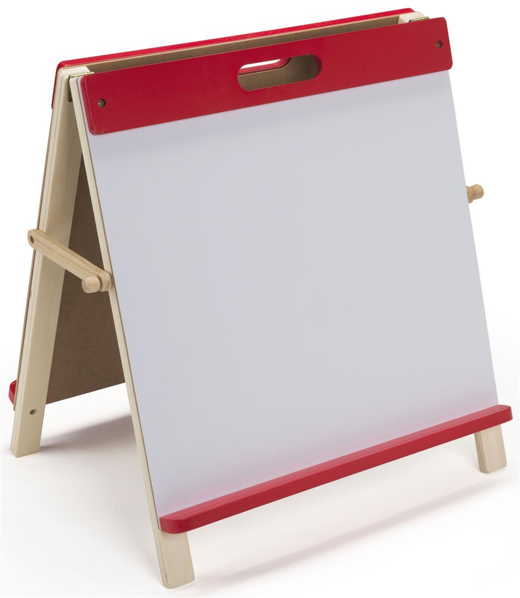 Desktop Easel For Kids Red Finish