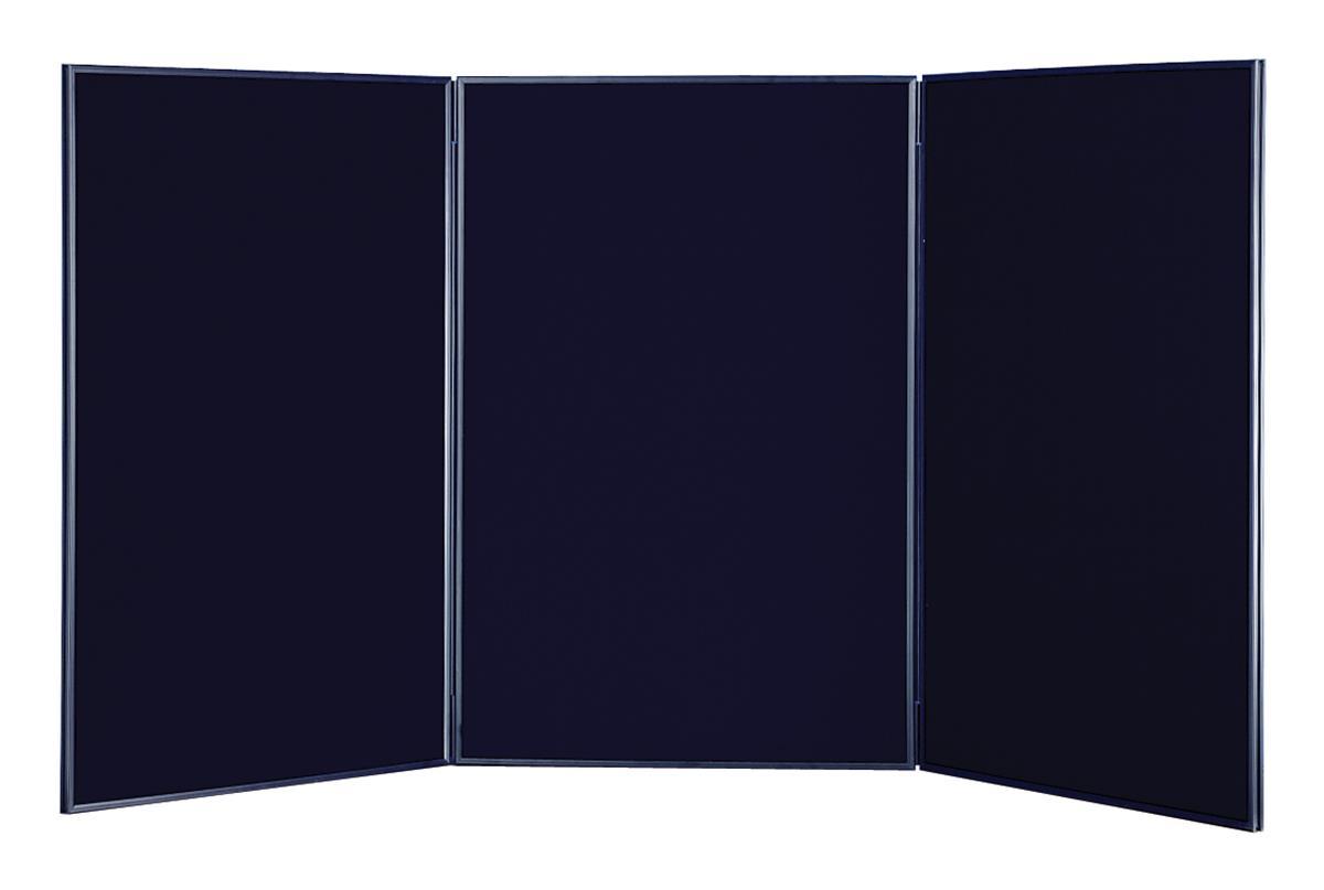 Black Tabletop Display Board Hook Amp Loop Receptive Black
