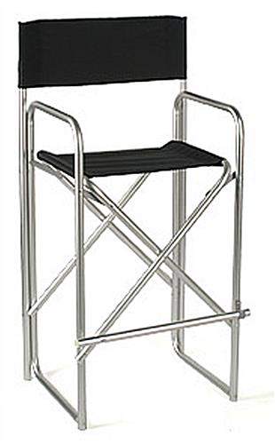 Tall Metal Folding Directors Chair 31 Quot Seat Height
