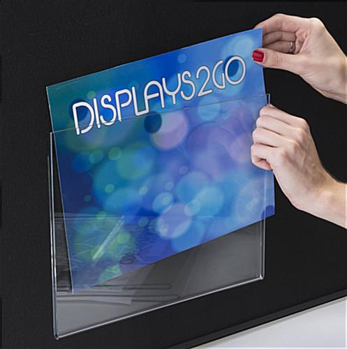 Top Loading Acrylic Sign Frame