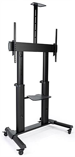 "Heavy duty rolling TV stand for 37""-70"" flat screens"