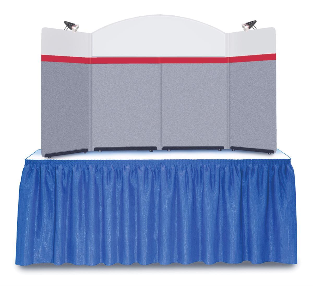 Folding Table Top Displays 88 Quot W Tabletop W Spotlights