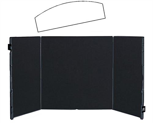 Black Foldable Briefcase Display