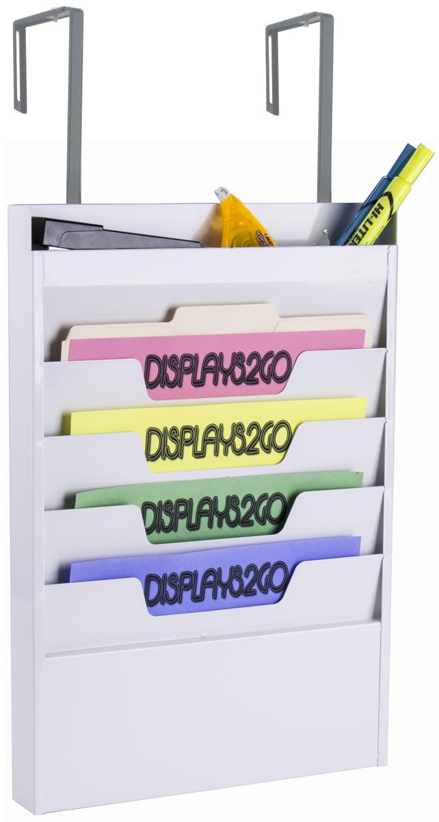 Cubicle Wall Hanging File Top Organizer Pocket