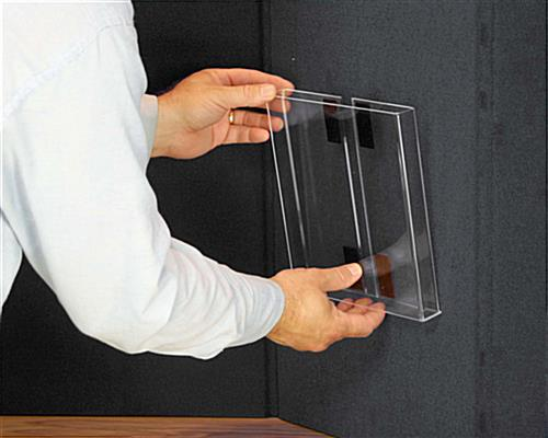 Double-Sided Display Board