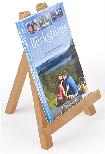 Tabletop Easel With A Natural Finish