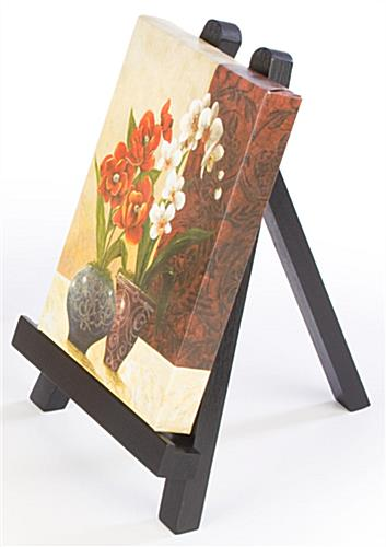 Table Easel Features Solid Wood Design