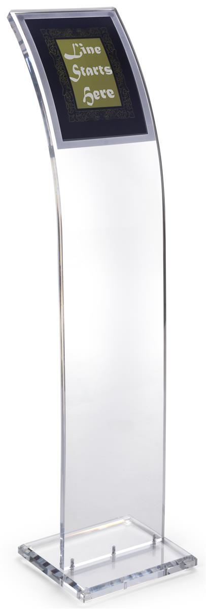 Acrylic Poster Stand Clear Design W 8 1 2 X 11 Magnetic