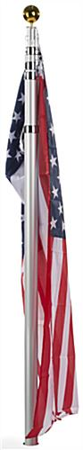 Portable Telescoping Flagpole