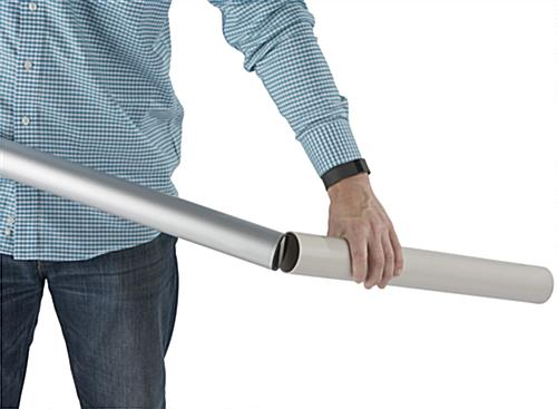Telescoping Flagpole PVC Sleeve