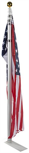 Aluminum Portable Flag Pole