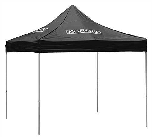 10 x 10 Black Pop-Up Canopy with 4 Imprints ...  sc 1 st  Displays2go & 10 x 10 Black Pop-Up Canopy | 4 Custom Prints