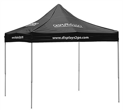 10 x 10 Folding Outdoor Canopy with 8 Imprints