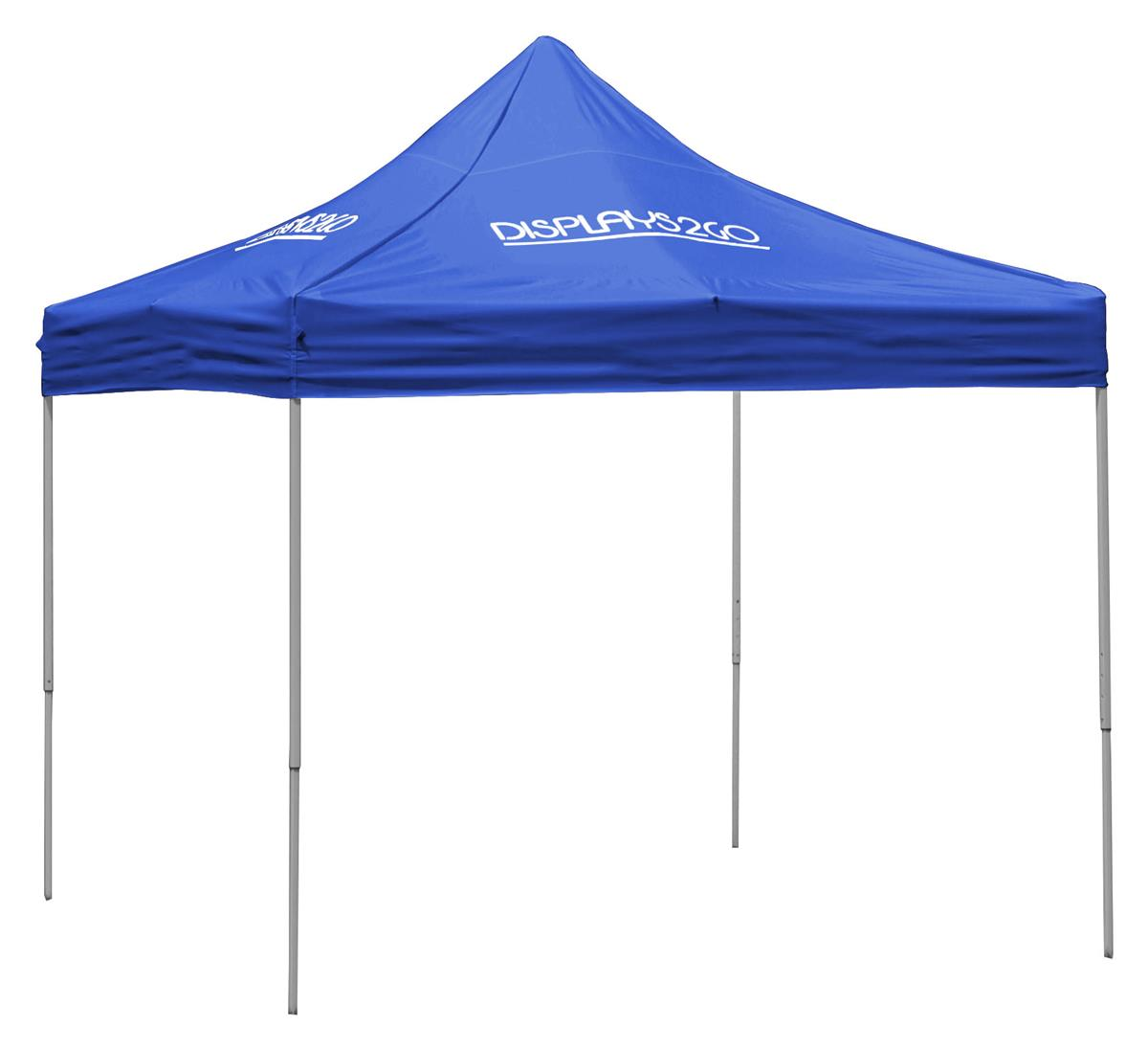 Royal Blue Pop Up Tent Outdoor Canopy With Custom Printing
