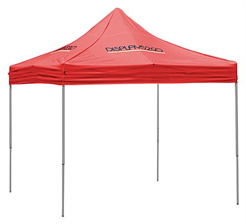 red pop up canopy ...  sc 1 st  Displays2go & Pop Up Canopy | Red Tent With Custom Graphics Printing