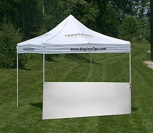 Half Sidewall Half Sidewall & Half Sidewall | White Unprinted for 10u0027 x 10u0027 Tent
