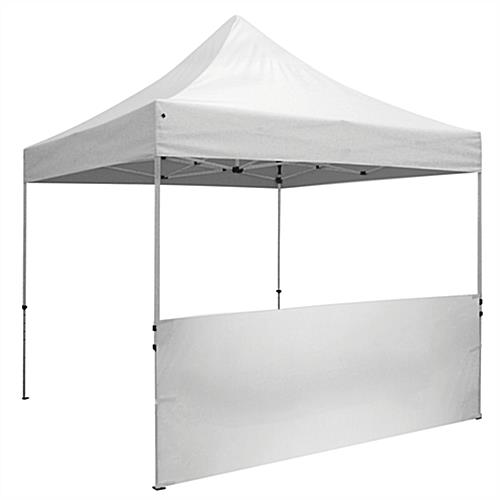 Half Sidewall Half Sidewall  sc 1 st  Displays2go & Half Sidewall | White Unprinted for 10u0027 x 10u0027 Tent