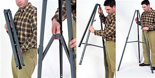 Portable Easel - Durable, Knock Down Design