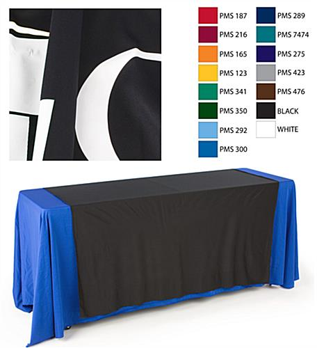 logo table runner