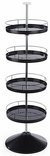 Round Spinning Tray Display Stand