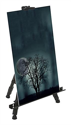 Collapsible Black Telescoping Easel