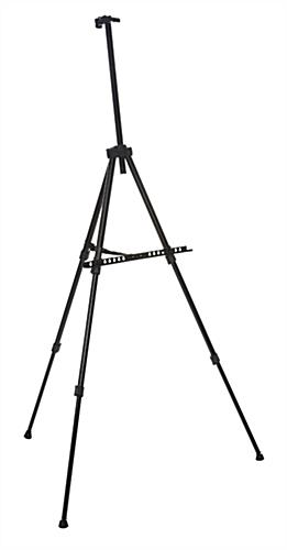 Portable Black Telescoping Easel