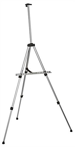 Adjustable Silver Telescoping Easel