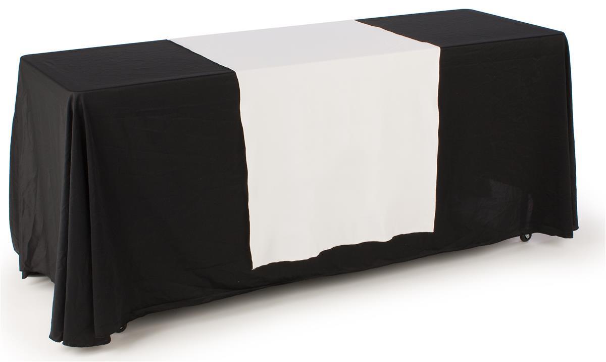 Plain Table Drape Unprinted 30 Quot White