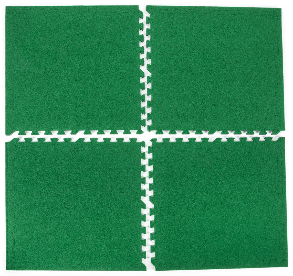 Soft Turf Carpet Tiles Grass Green