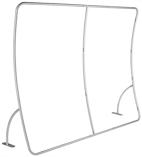 Lightweight 10' Curved Display Wall
