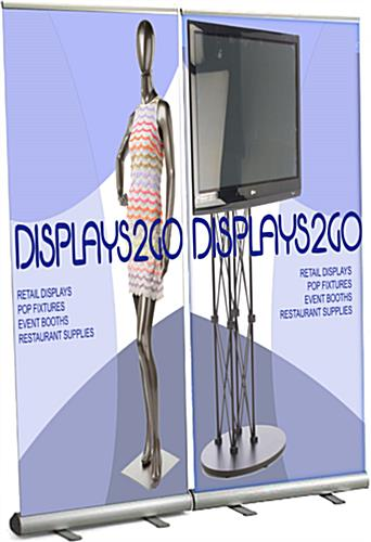 Roll Up Display Stand