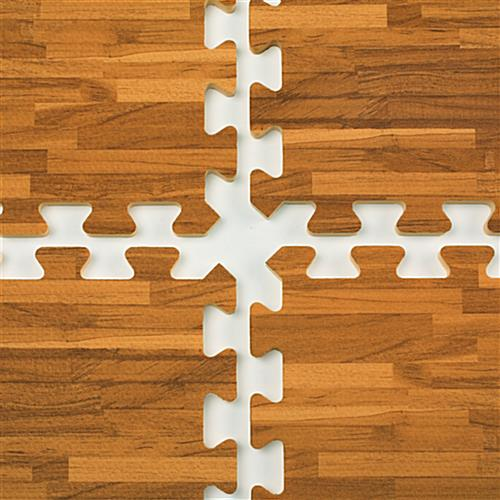 10 X 10 Interlocking Floor Mats Soft Tiles W Wood