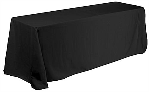 Custom pipe and drape booth kit with table