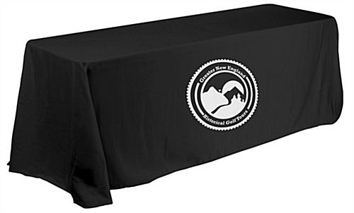 Economy exhibit booth furniture kit with 6' table cover