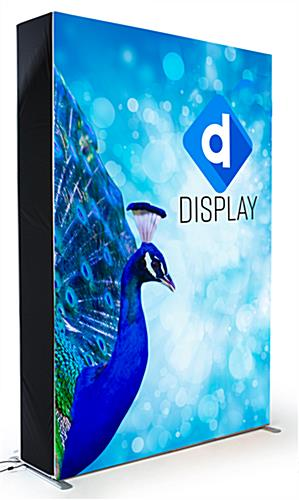 ade show display kit with silicone edge press fit fabric panels