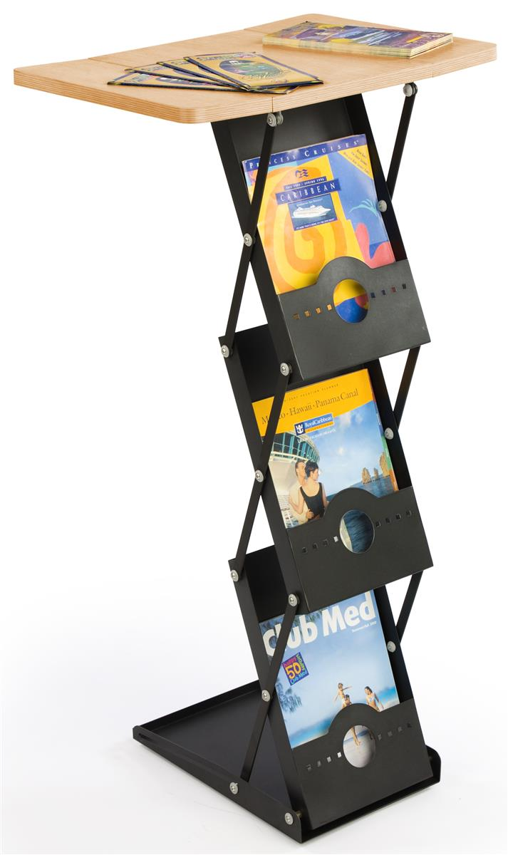 Portable Exhibition Display Cases : Portable exhibit displays folding with tabletop