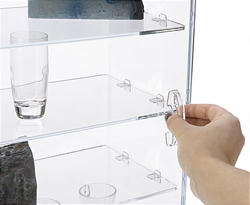 Accessible Acrylic Counter Showcase