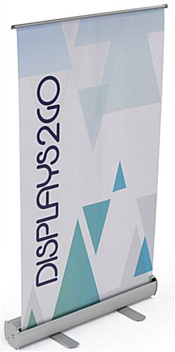 Easy to Assemble Tabletop Retractable Banner