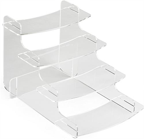 Knock Down Acrylic Step Riser