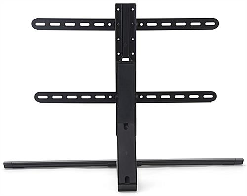 35.6 inch x 13.5 inch adjustable table top tv stand with cable management