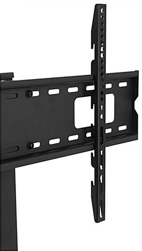 Universal tabletop tv stand with 3 height adjustable settings
