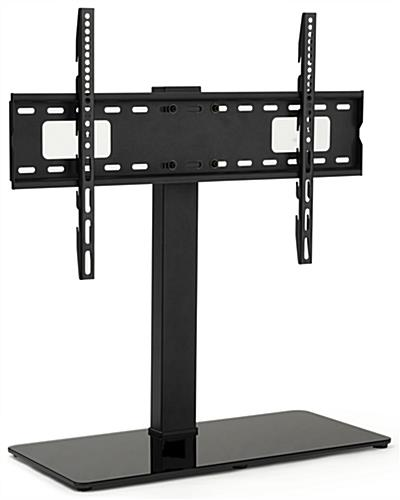 26 inch x 11 inch universal tabletop tv stand with a weight capacity of 88lbs