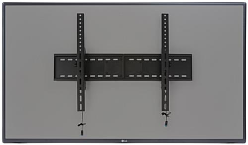 Big Screen TV Mount, Low Profile Design