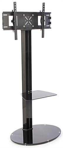 Flat Panel Stand with Shelf