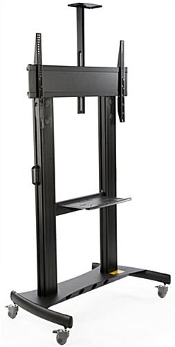 Tv Cart For Floor Fits 84 Inch Monitors