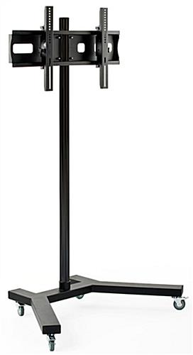 Mobile Monitor Stand 6 Tall With 4 Locking Casters