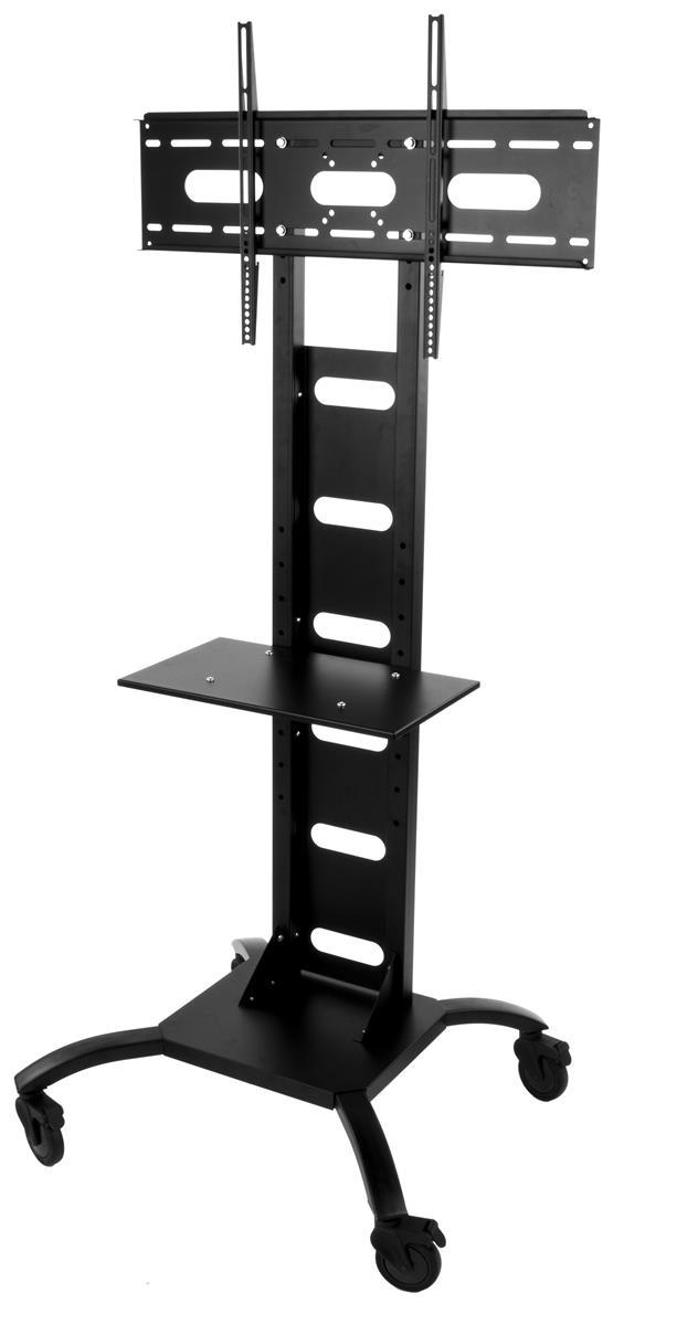 office tv stand adjustable features. Black Bedroom Furniture Sets. Home Design Ideas